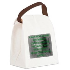 Defending Our Country Canvas Lunch Bag