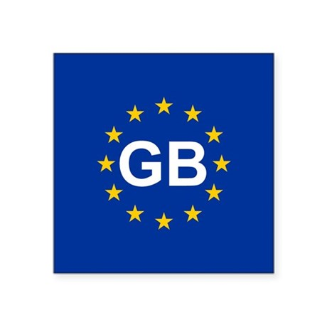 EU UK Sticker