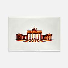 Brandenburg Gate / Brandenburger Tor Rectangle Mag