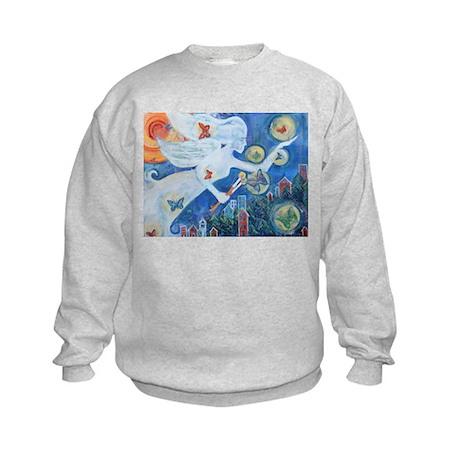 """The Angel of Hope"" by Studio OTB Kids Sweatshirt"