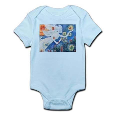 """The Angel of Hope"" by Studio OTB Infant Bodysuit"