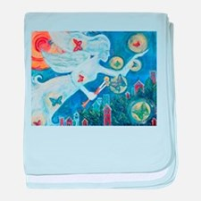 """The Angel of Hope"" by Studio OTB baby blanket"