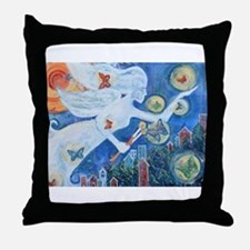 """The Angel of Hope"" by Studio OTB Throw Pillow"
