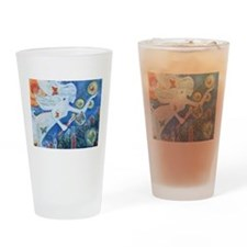 """""""The Angel of Hope"""" by Studio OTB Drinking Glass"""