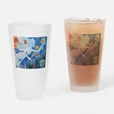 """The Angel of Hope"" by Studio OTB Drinking Glass"
