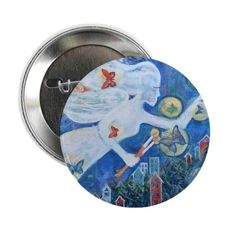 """""""The Angel of Hope"""" by Studio OTB 2.25"""" Button"""