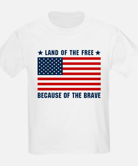 Land of the Free Flag T-Shirt