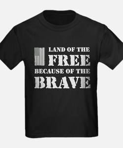 Land of the Free Camo T