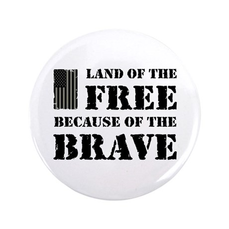 """Land of the Free Camo 3.5"""" Button"""