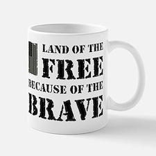 Land of the Free Camo Mug