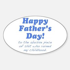 Happy Fathers Day... Decal
