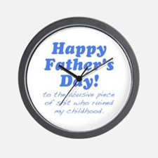 Happy Fathers Day... Wall Clock