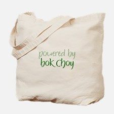 Powered By bok choy Tote Bag
