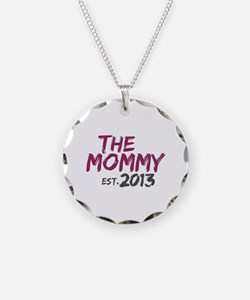 New Mommy Est 2013 Necklace