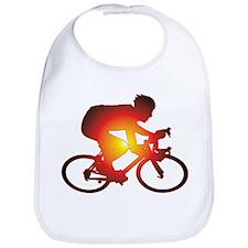 Sunset Bicycle Rider Bib
