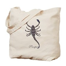 Starlight Scorpio Tote Bag
