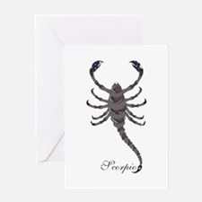 Starlight Scorpio Greeting Card