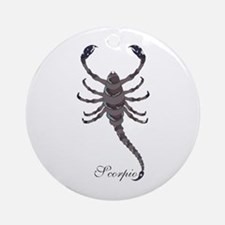 Starlight Scorpio Ornament (Round)