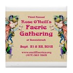2012 Faerie Gathering Tile Coaster