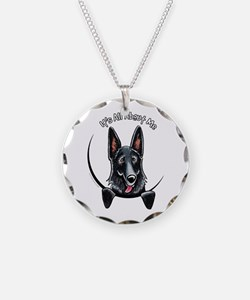 Black GSD IAAM Necklace