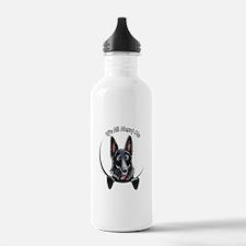 Black GSD IAAM Water Bottle