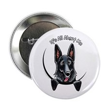 "Black GSD IAAM 2.25"" Button"