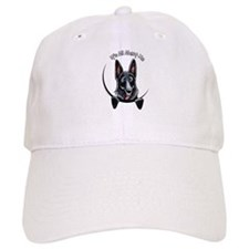 Black GSD IAAM Baseball Cap