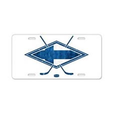 Suomi Jääkiekko Flag Logo Aluminum License Plate