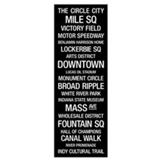 Bus Roll: Indianapolis, Indiana Poster