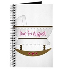 Pink Due In December Journal