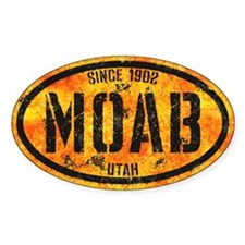 Moab Bootcamp Gold Grunge Decal