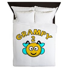Grampy 2 Bee Queen Duvet