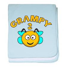 Grampy 2 Bee baby blanket