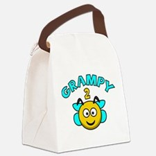 Grampy 2 Bee Canvas Lunch Bag