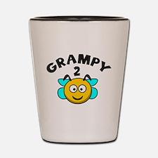 Grampy 2 Bee Shot Glass
