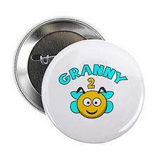 """Granny 2 Bee 2.25"""" Button"""