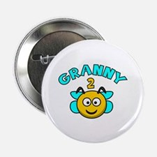 """Granny 2 Bee 2.25"""" Button (100 pack)"""
