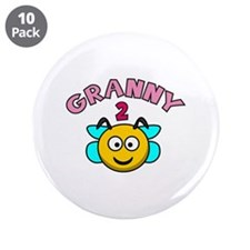 """Granny 2 Bee 3.5"""" Button (10 pack)"""