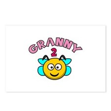 Granny 2 Bee Postcards (Package of 8)