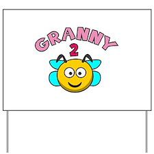 Granny 2 Bee Yard Sign