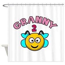 Granny 2 Bee Shower Curtain