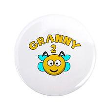 """Granny 2 Bee 3.5"""" Button"""