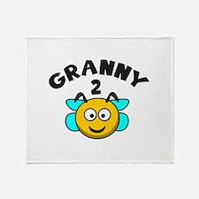 Granny 2 Bee Stadium Blanket