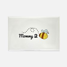 Mommy 2 Bee Rectangle Magnet (100 pack)