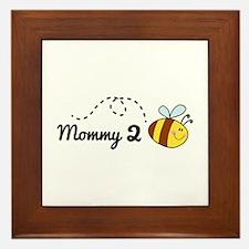 Mommy 2 Bee Framed Tile