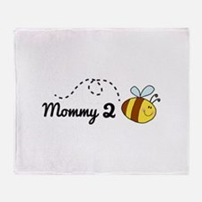Mommy 2 Bee Stadium Blanket