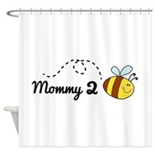 Mommy 2 Bee Shower Curtain