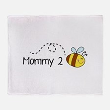 Mommy 2 Bee Stadium Blanket