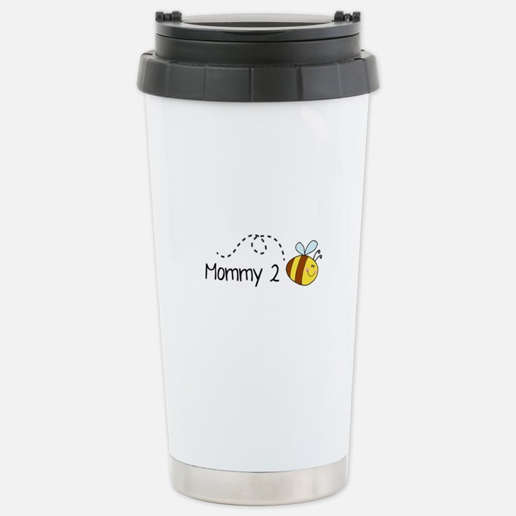 Mommy 2 Bee Stainless Steel Travel Mug