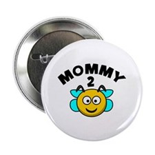 "Mommy 2 Bee 2.25"" Button (100 pack)"